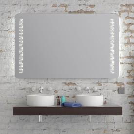Spiegel mit abgerundeten Ecken Roxan