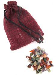 Edelsteine - Trommelsteine - 75 Stück - bunt gemischt - Größe ca. 5-10 mm - kleine Größe
