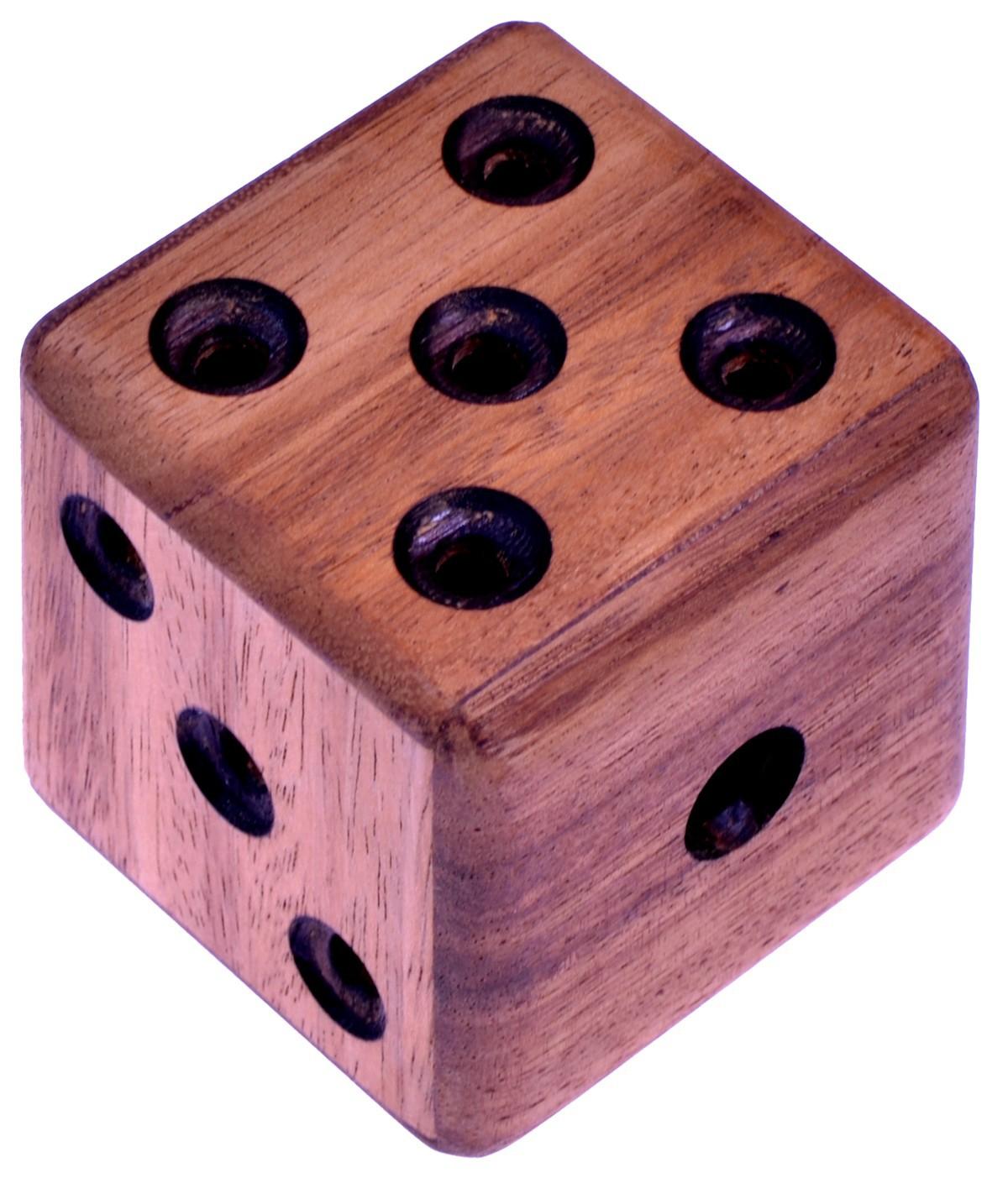 labyrinth w rfel denkspiel knobelspiel geduldspiel aus holz mit innenleben spiele f r 1. Black Bedroom Furniture Sets. Home Design Ideas