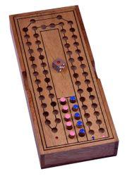 Pferderennen - Horse Race - Würfelspiel - Brettspiel aus Holz