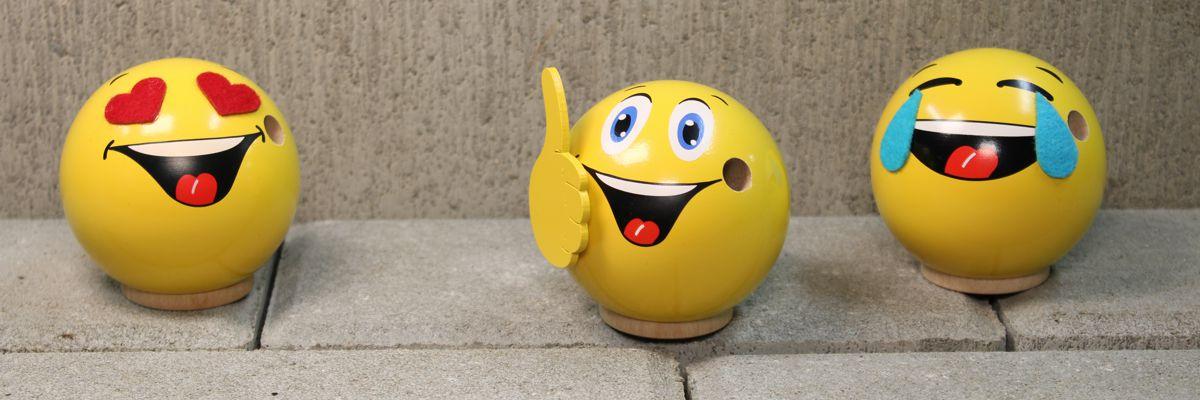 Räucher-Emotionsfigur aus Holz 7 cm Andy der Gewinner