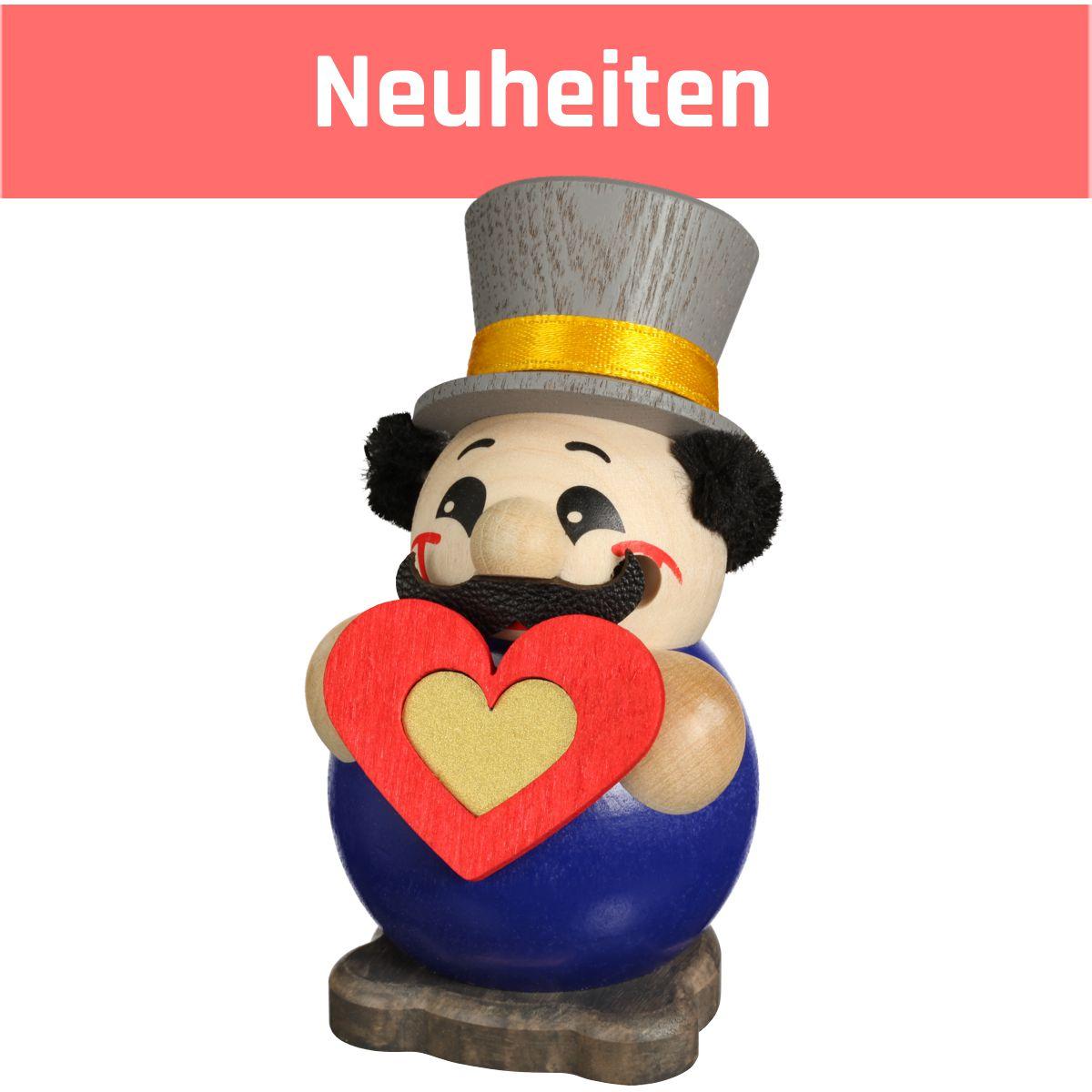 Kugelräucherfigur Höhe 10 cm inkl. 20 Räucherkerzen Fire of Love