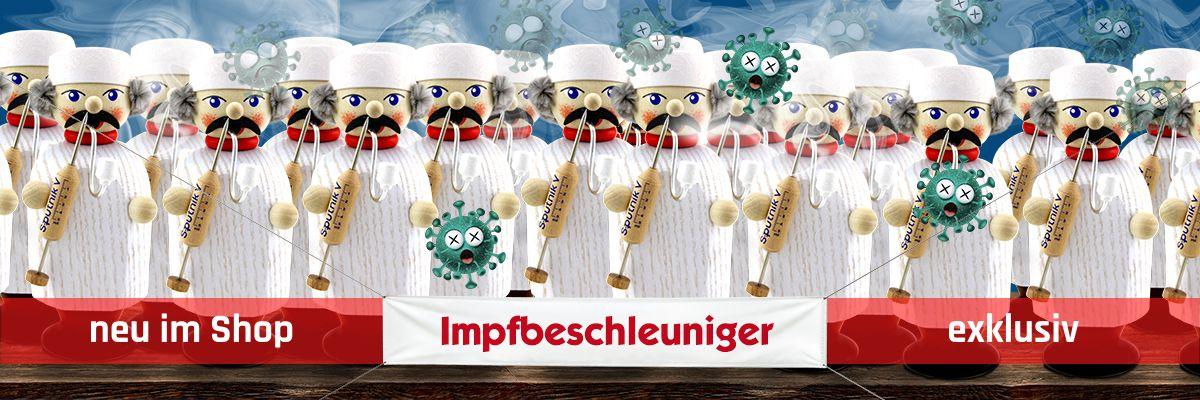 [Paket] Holz Räuchermann Figur Erzgebirge Kleine Gesellen Impfbeschleuniger 14 cm