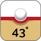Härte 43°