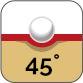 Härte 45°