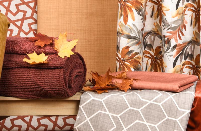 Herbstliche Stoffe
