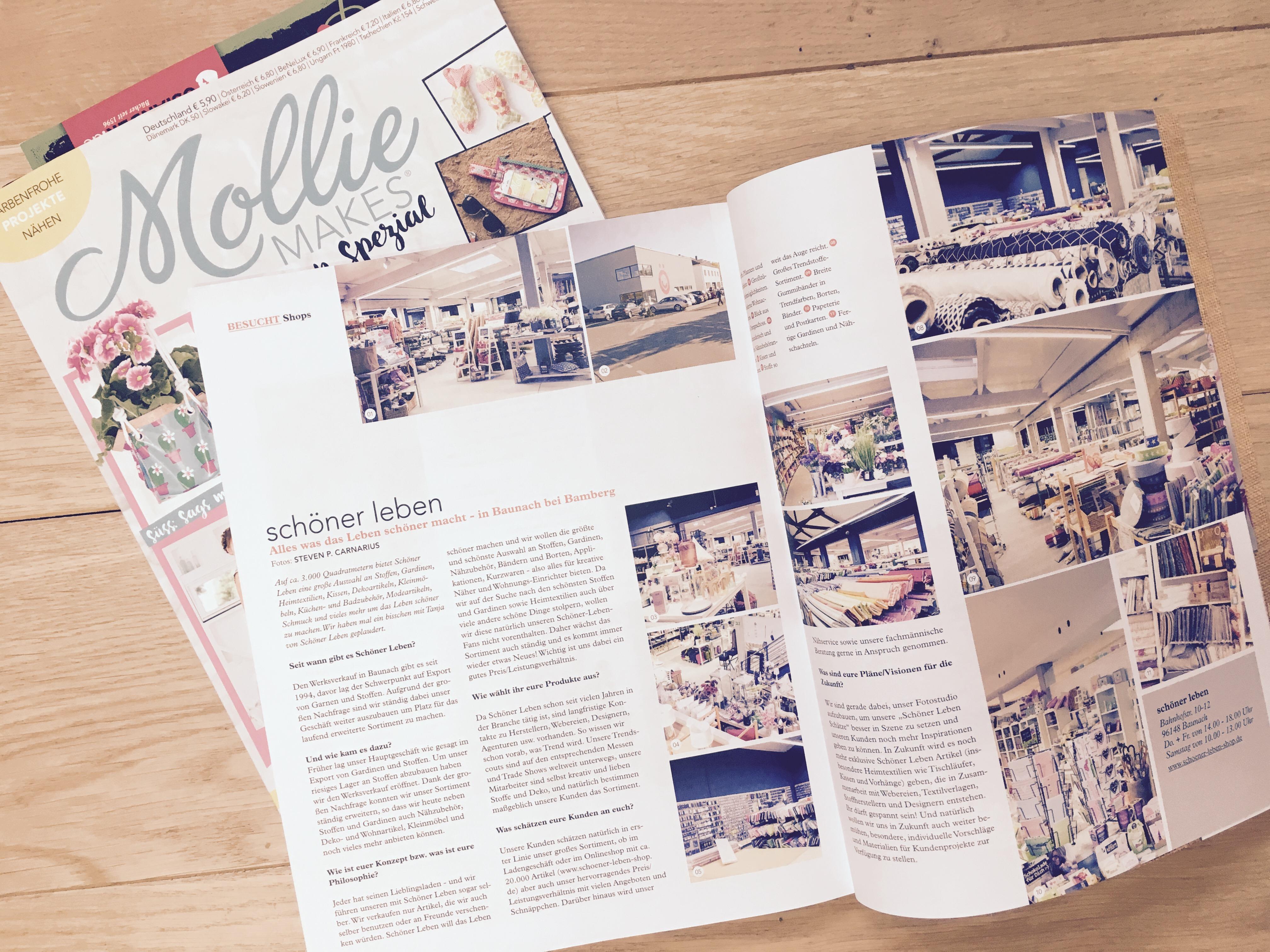 Schoner Leben Im Aktuellen Couch Magazin Ceres Webshop