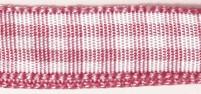 10m Karoband 9,5mm breit rosa