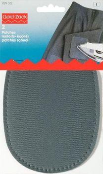 Prym Patches (zum Aufbügeln) grau