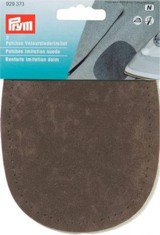 Prym Patches Velourslederimitat (zum Aufbügeln) d-braun