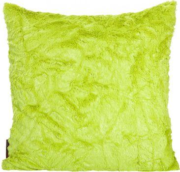 """Kissenhülle """"Fluffy"""" grün, ca. 50x50cm"""