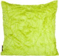 """Kissenhülle """"Fluffy"""" grün, ca. 50x50cm   001"""