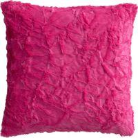 "Kissenhülle ""Fluffy"" pink, ca. 50x50cm"