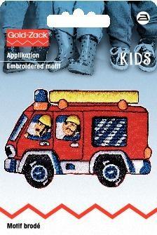Applikation Feuerwehrauto rot