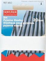 Prym 2m Pyjama Elastic Gummiband 20 mm weiß