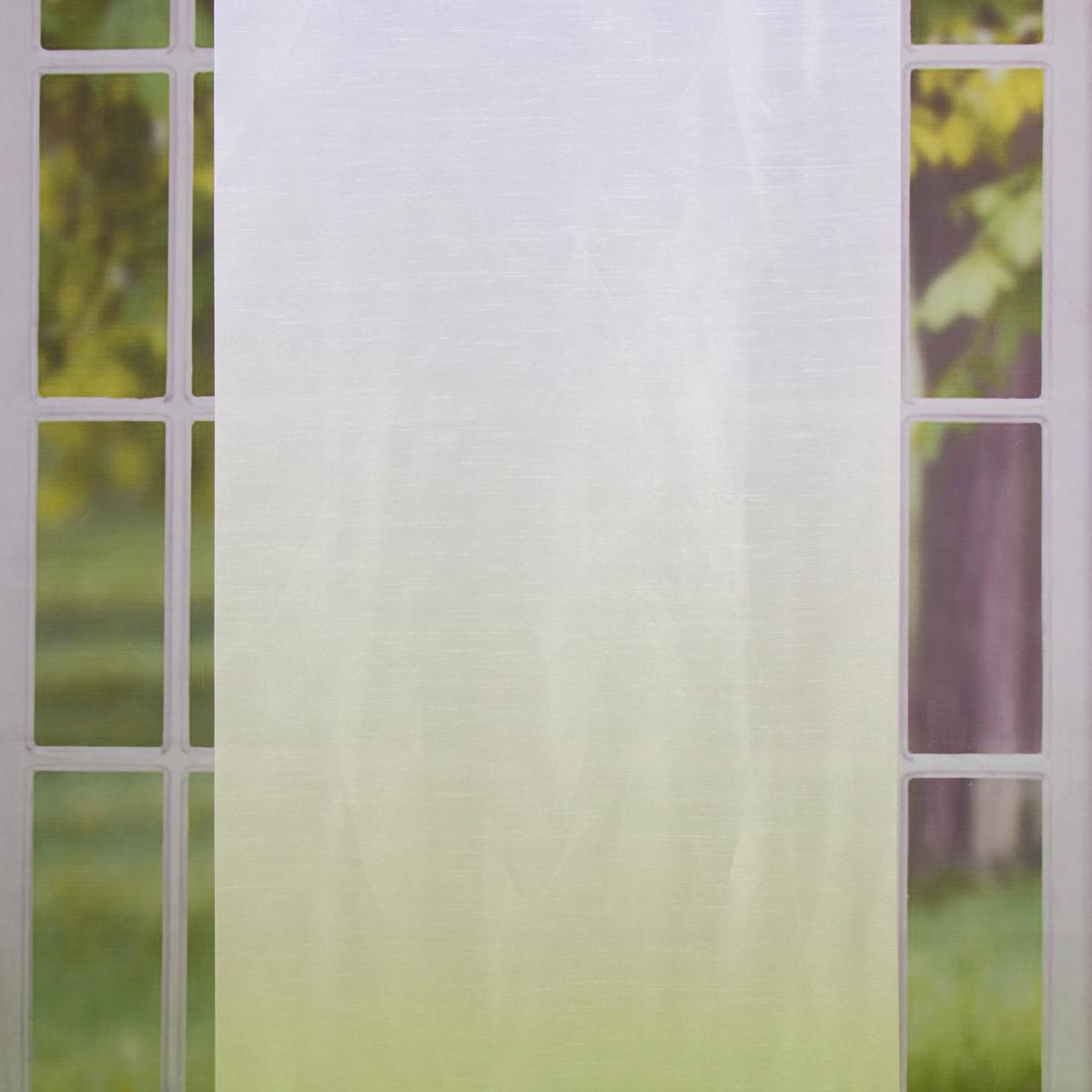 Schiebevorhang Flächenvorhang Flächenschal Digitaldruck 60x245cm Madrid grün