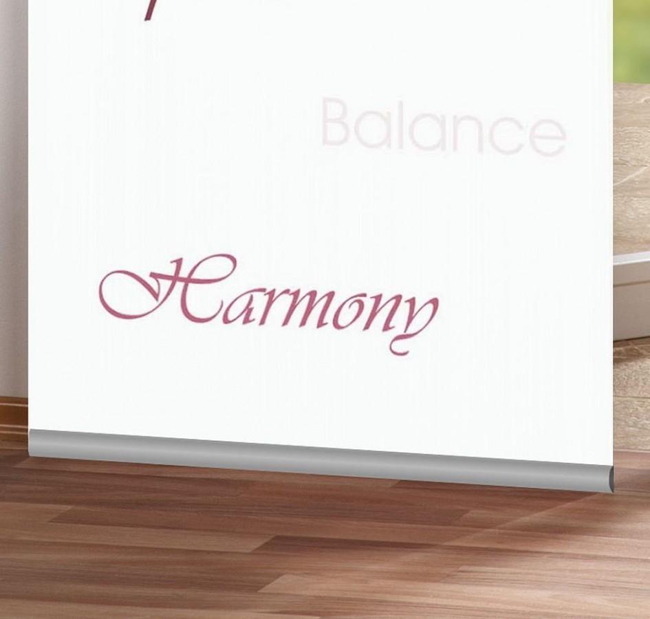 klappleiste klemmleiste f r schiebevorh nge 60cm aluminium ebay. Black Bedroom Furniture Sets. Home Design Ideas