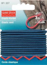 Prym Elastic Kordel Band Gummiband 2,5 mm marine