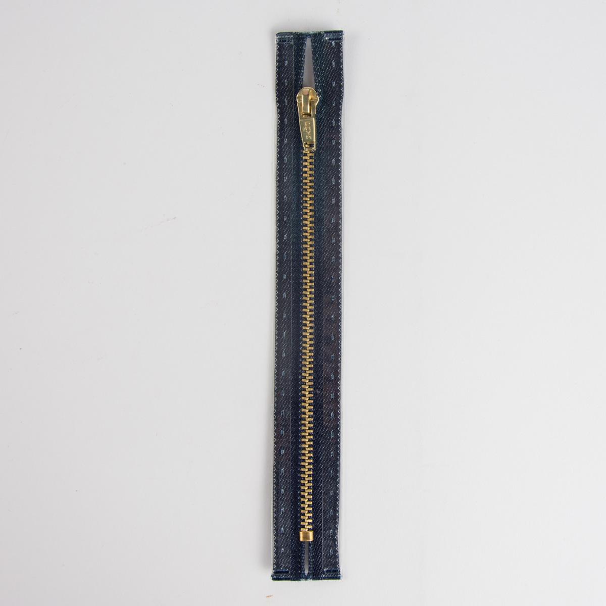 Reißverschluss M8 Typ 5 SSP 18cm go-fb Fla d-jeans