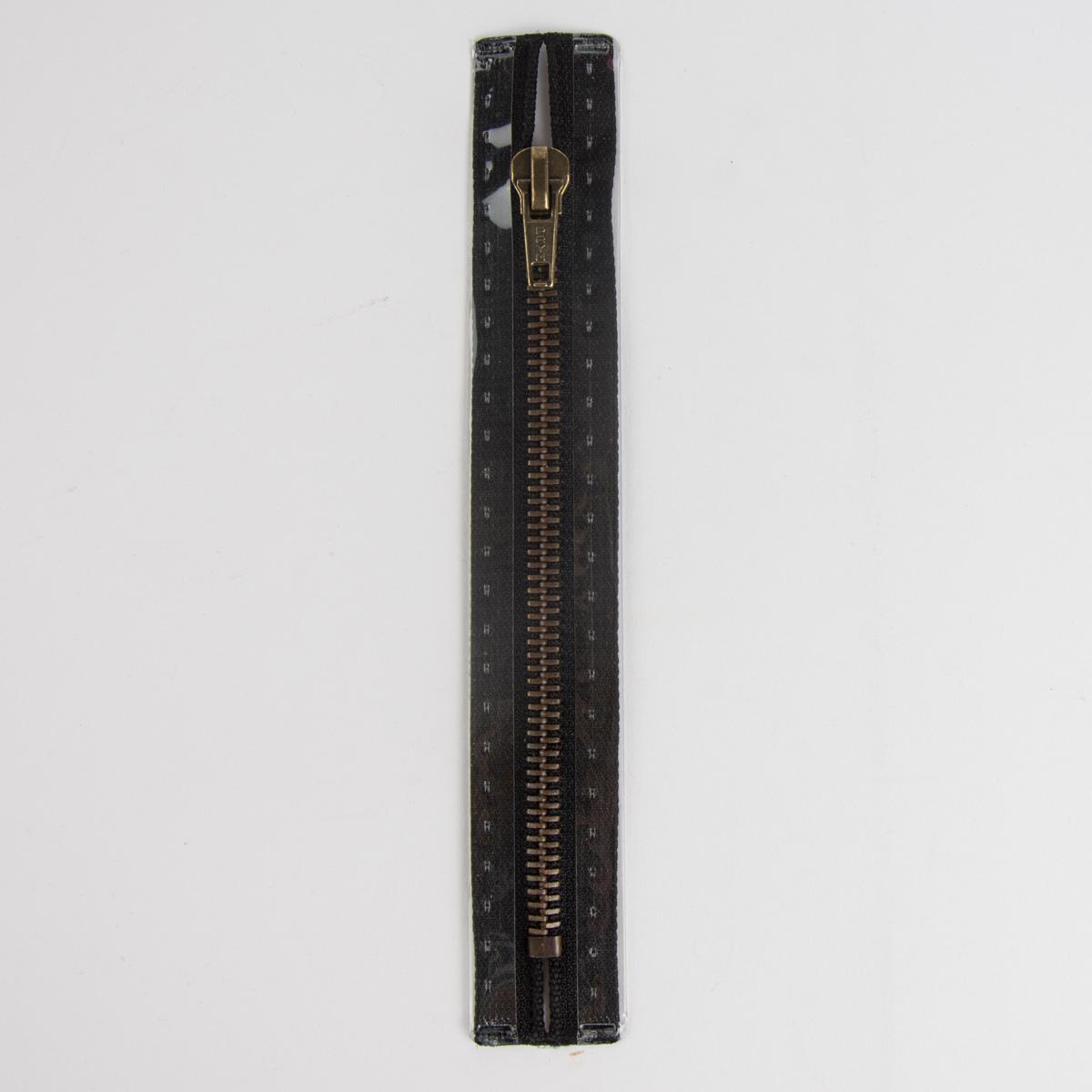 Reißverschluss M6 Typ 10 ut 18 cm am-fb Fla schwarz