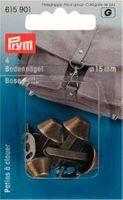 Bodennägel für Taschen 15 mm altmessing