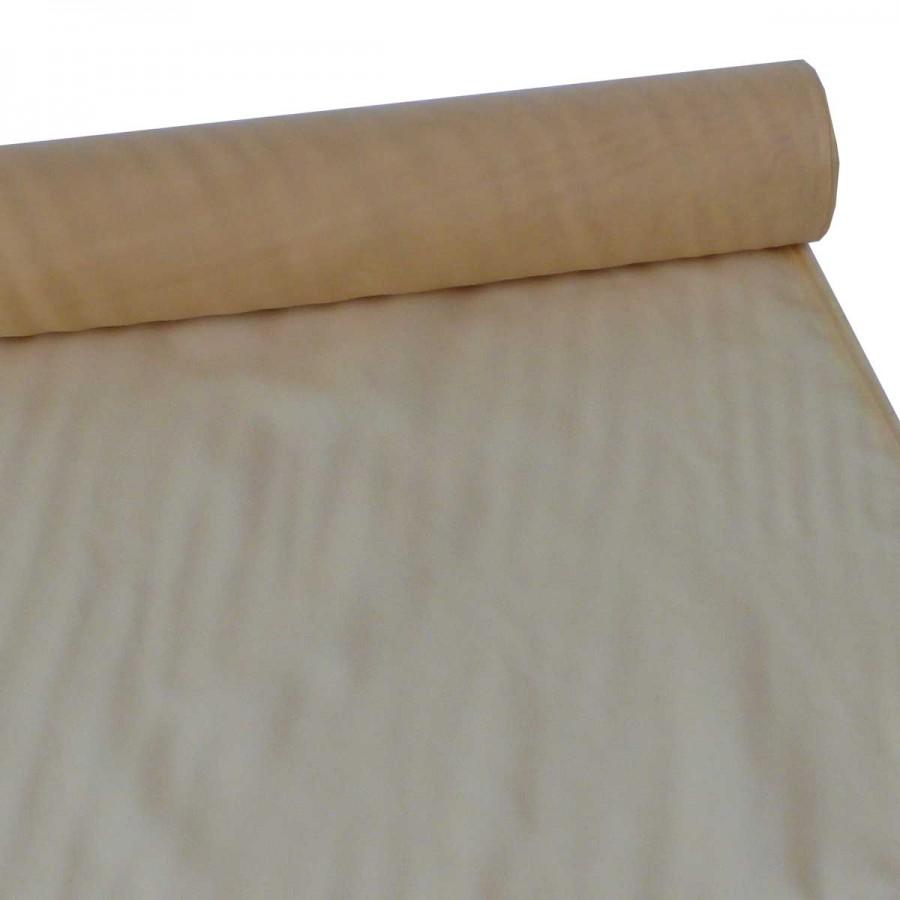 30m Voile Voilestore Gardinen Stoff gelb