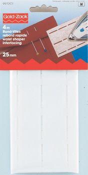 Prym Bund Vlies perforiert 25 mm weiß