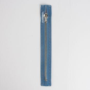 Reißverschluss M2 Typ 10 ut 16 cm si-fb Fla azurblau