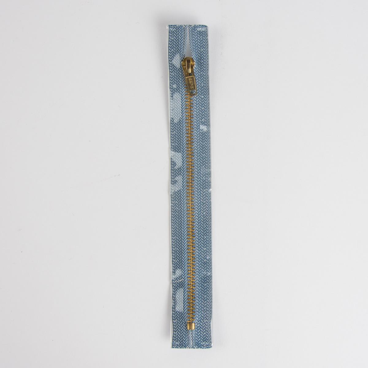 Reißverschluss M8 Typ 5 SSP 6cm go-fb Fla jeansblau