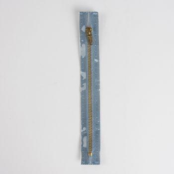 Reißverschluss M8 Typ 5 SSP 12cm go-fb Fla jeansblau