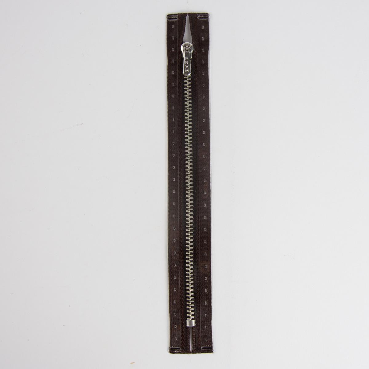 Reißverschluss M1 Typ 5 HReißverschluss 18 cm si-fb Fla dunkelbr