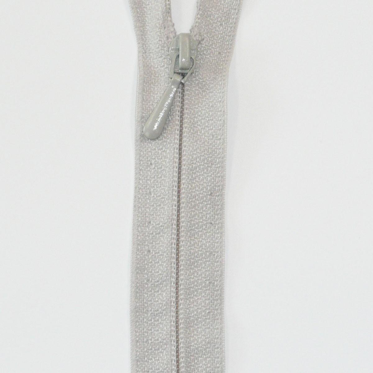 Reißverschluss S2 Typ 0 Nahtfein 30 cm Fla si-grau