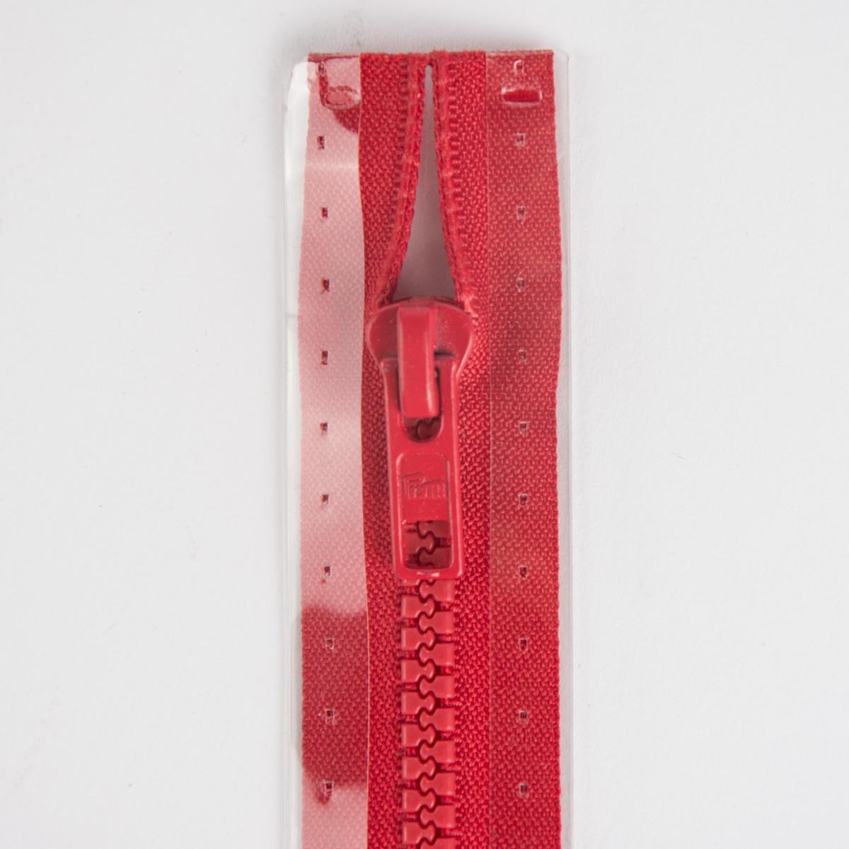 Reißverschluss S4 Profil tb 60 cm Fla rot