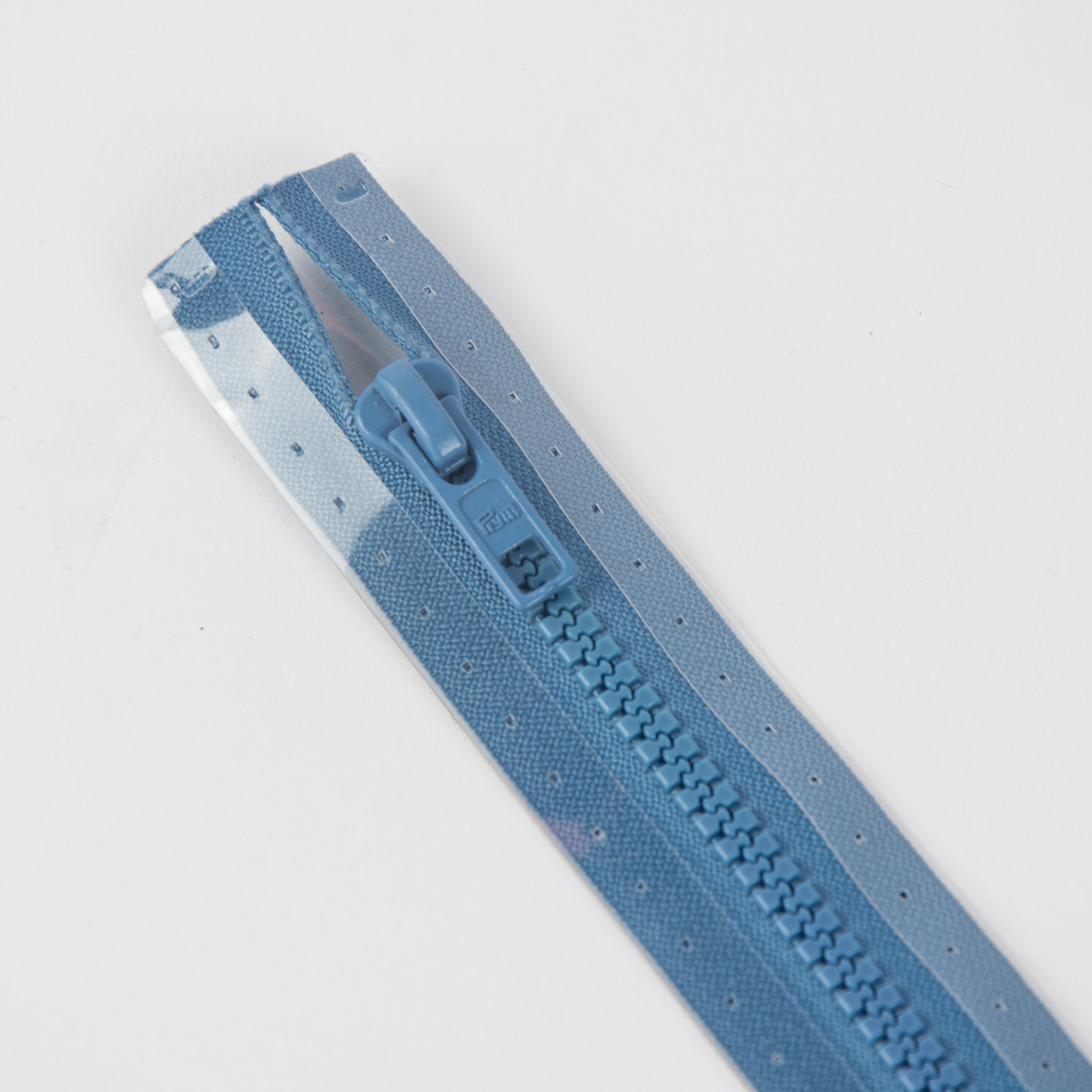 Reißverschluss S4 Profil tb 75 cm Fla azurblau