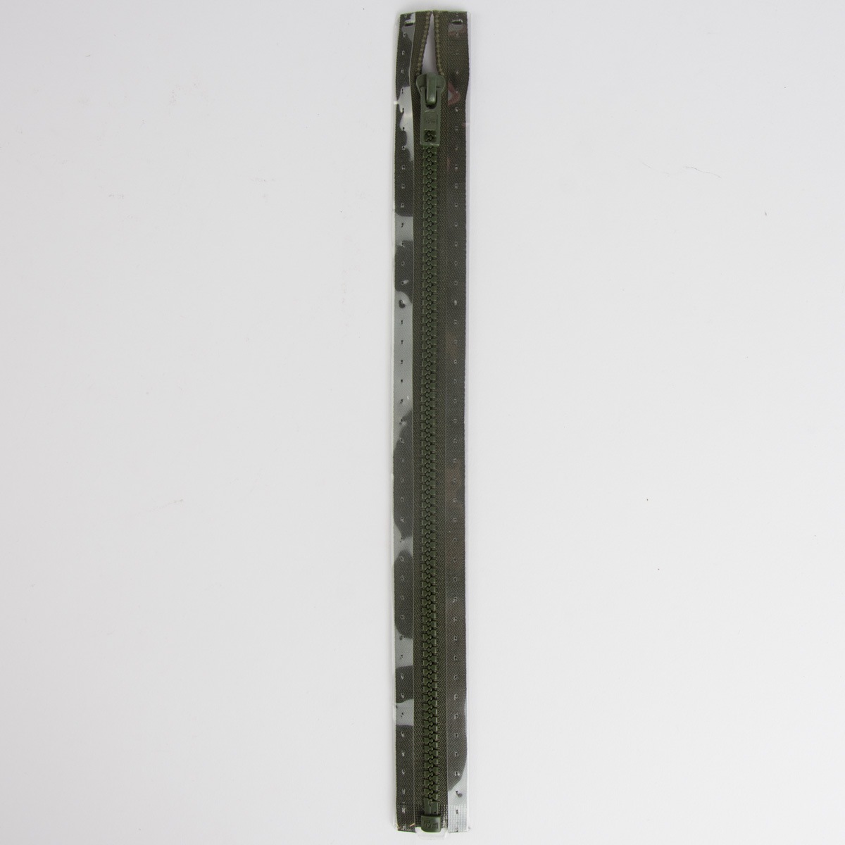 Reißverschluss S4 Profil tb 75 cm Fla br-oliv