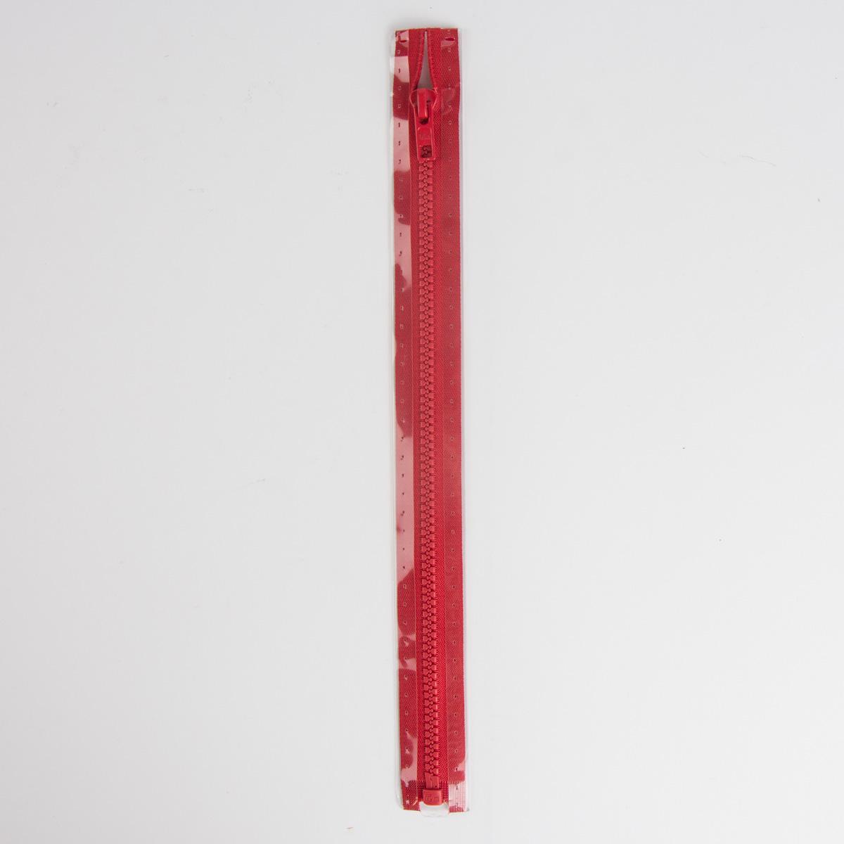 Reißverschluss S4 Profil tb 75 cm Fla rot