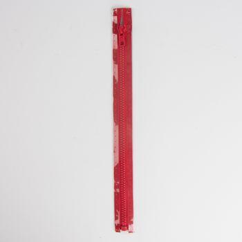 Reißverschluss S4 Profil tb 80 cm Fla rot