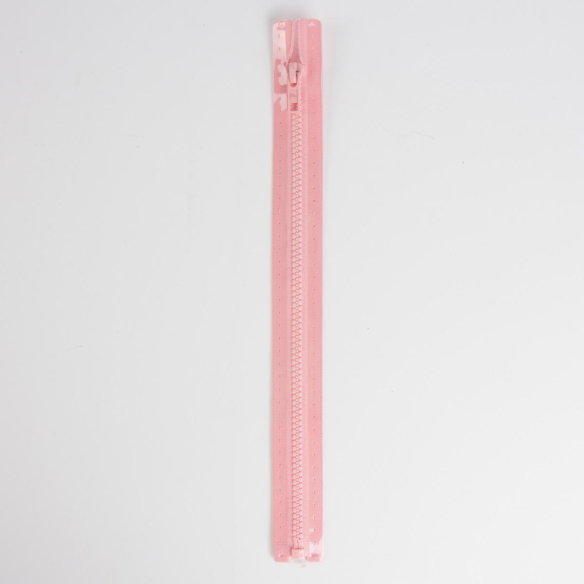 Reißverschluss S4 Profil tb 80 cm Fla rosa