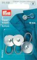 Flexi-Knöpfe mit Schlaufe 19 mm 001
