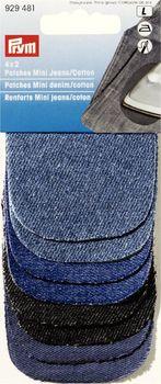 4x2 Patches Mini Jeans/Cotton sort.8x6cm