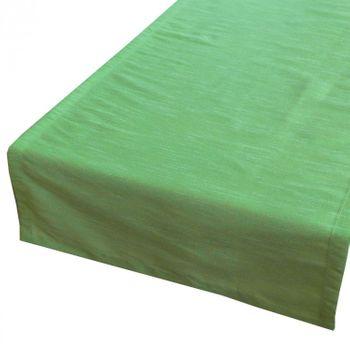 Tischläufer Tischband Passat 42x150cm apfel-grün