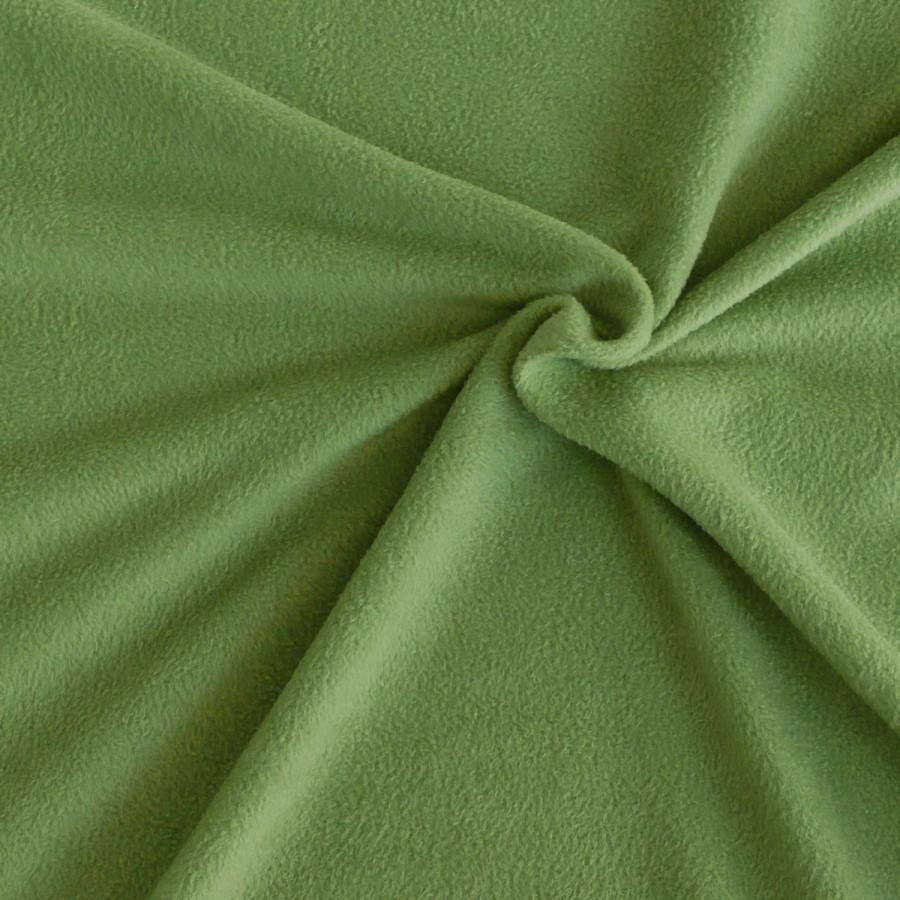polar fleece stoffe fleecestoff meterware moosgr n alle stoffe stoffe uni fleece. Black Bedroom Furniture Sets. Home Design Ideas