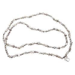 Pearls for Girls Kette Perlen silber ca. 52cm lang