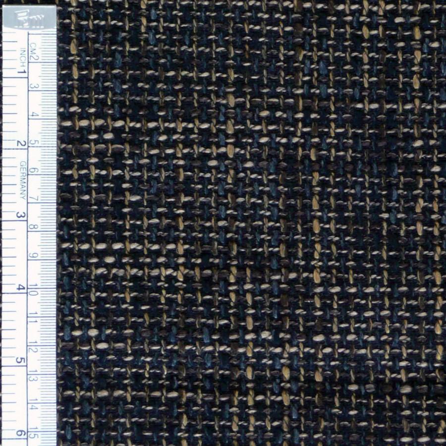 Möbelstoff Polsterstoff Struktur braun dunkelbraun