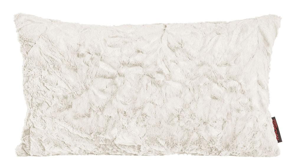 Kissen Kuschelkissen Dekokissen Fluffy beige 30x50cm