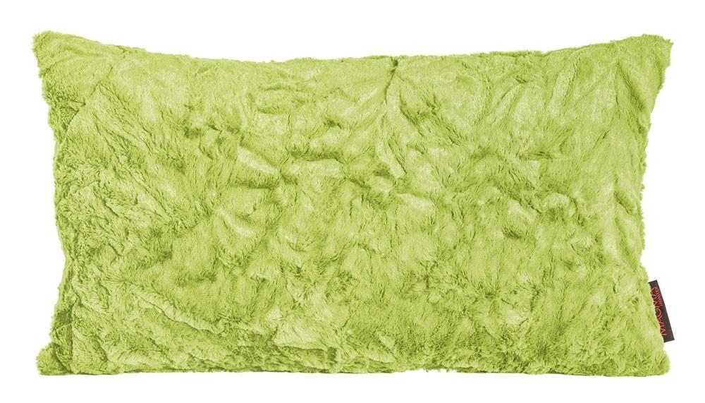 Kissen Kuschelkissen Dekokissen Fluffy apfelgrün 30x50cm