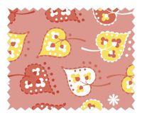 Tante Ema Baumwolle Stoff Sugar Flower Blättchenspiel rosa 50x65cm 001