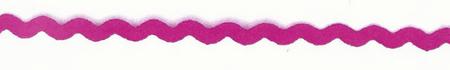 Zackenlitze Zierband fuchsia Breite: 0,5cm