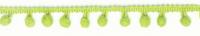 Bommelborte PomPom Borte Zierband lime Breite: 0,5cm