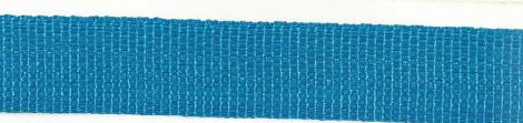 Gurtband aqua blau Breite: 2,5cm